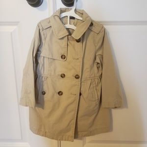 Baby Gap trench coat for 3T toddler